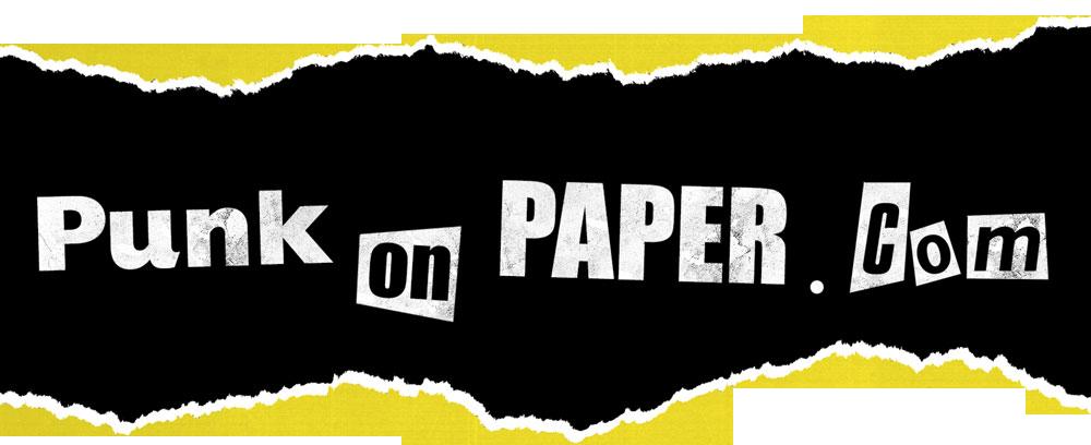 www.punkonpaper.com - punk poster art