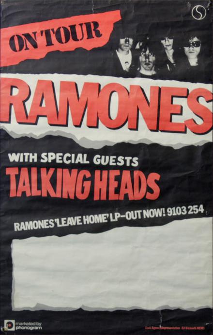 Ramones on tour
