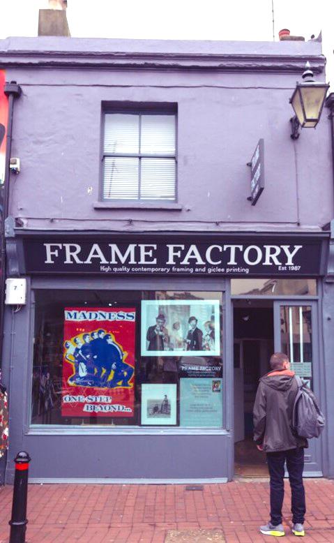 Frame Factory, Sydney Street, Brighton